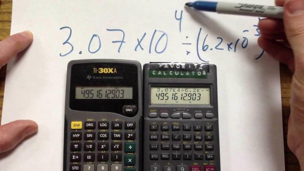come funziola la calcolatrice scientifica online