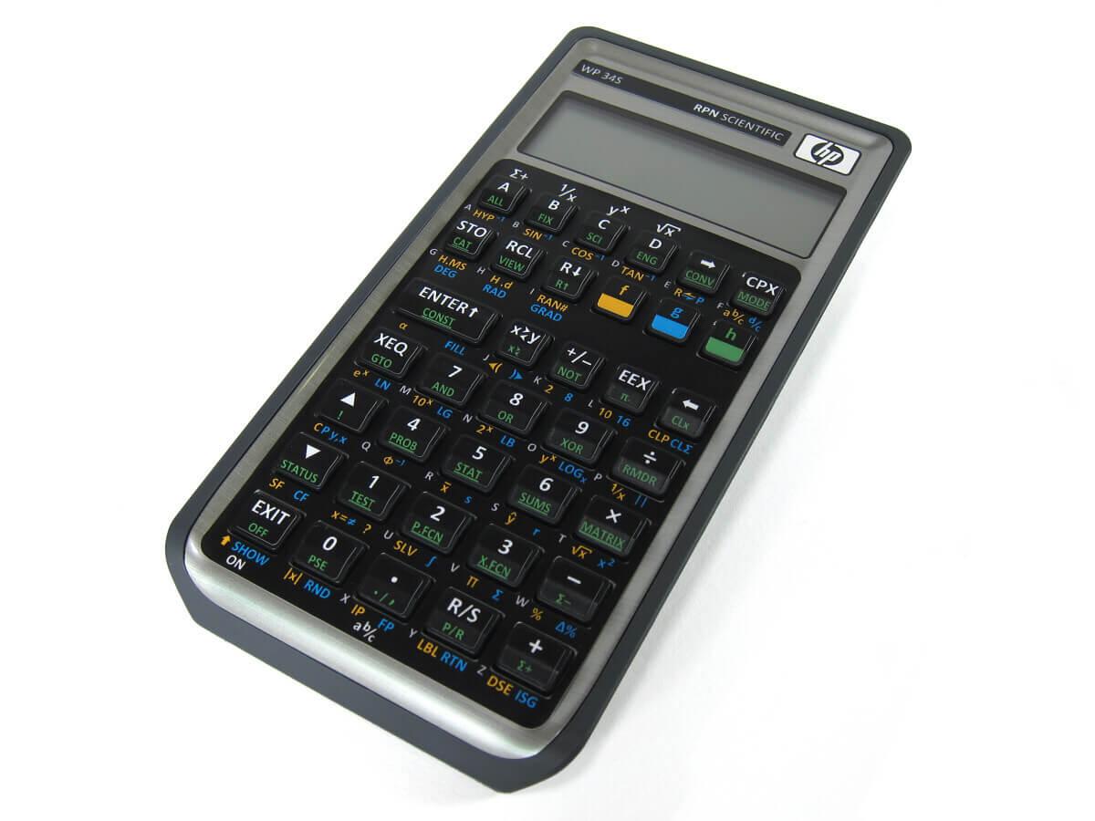 usare la calcolatrice scientifica